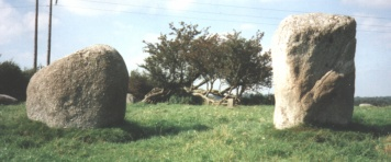 Athgreany Entrance Stones