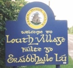 Louth Village sign